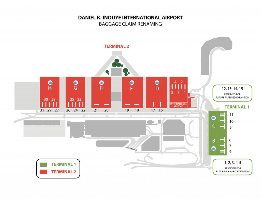 honolulu airport baggage claim numbers x