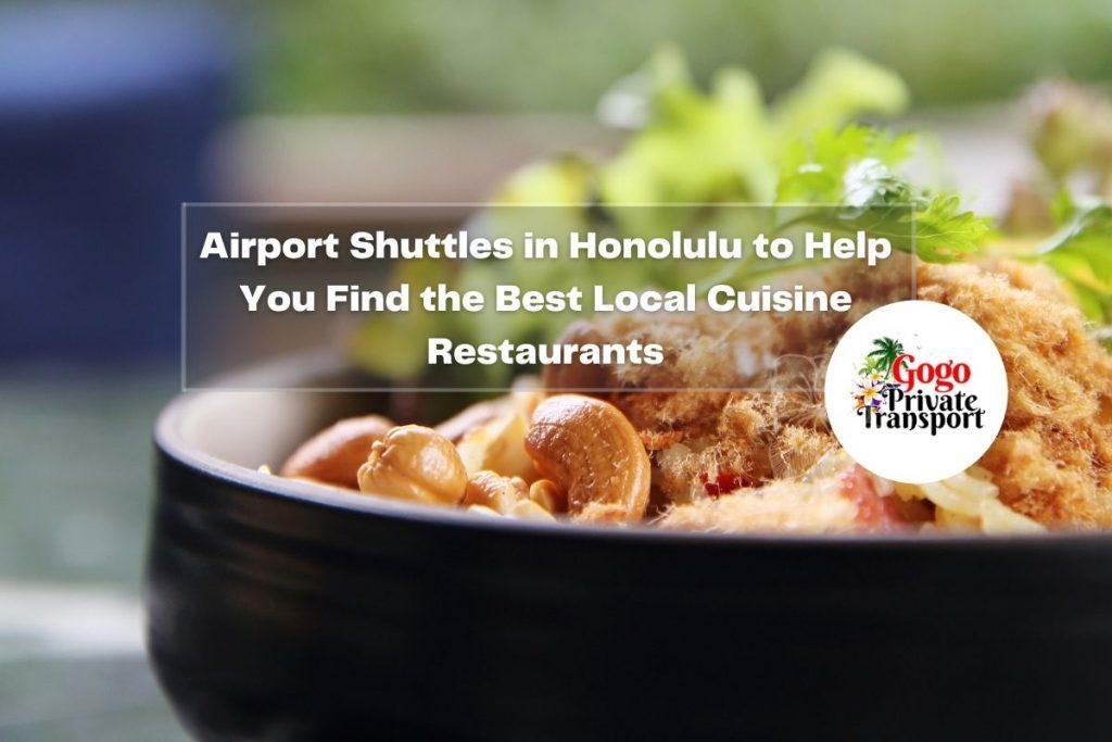 Airport Shuttles in Honolulu